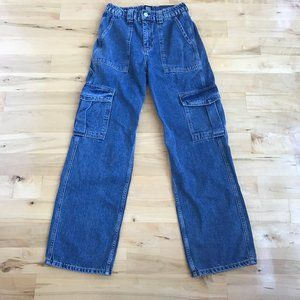 UO BDG High Waisted Skate Jean Cargo Jeans NEW 28